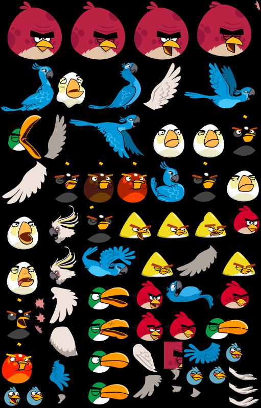Image Angry Birds Sheet Fullpng