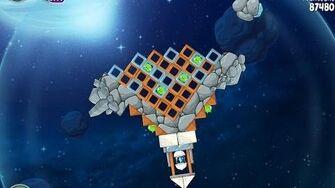 Angry Birds Space Beak Impact 8-35 Walkthrough 3 Star