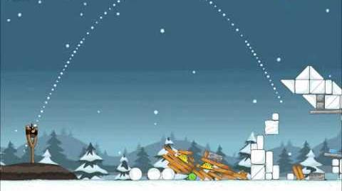 Official Angry Birds Seasons Walkthrough Season's Greedings 1-18