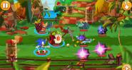 Один из уровней локации Sonic Dash