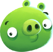 ABPop Minion Pig Character