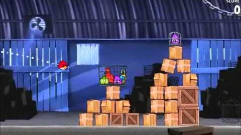 Official Angry Birds Rio Walkthrough Smuggler's Den 1-2
