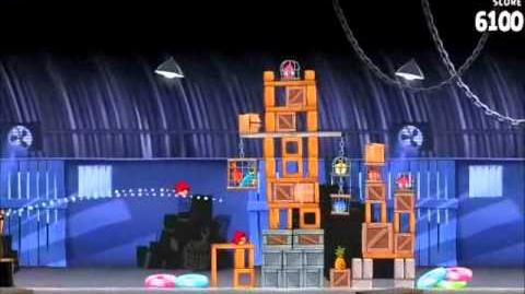 Official Angry Birds Rio Walkthrough Smuggler's Den 2-1