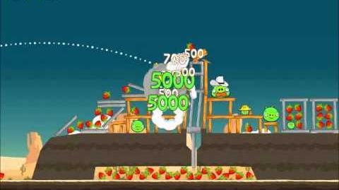 Official Angry Birds Walkthrough Ham 'Em High 13-12
