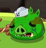 Большой пират плачет