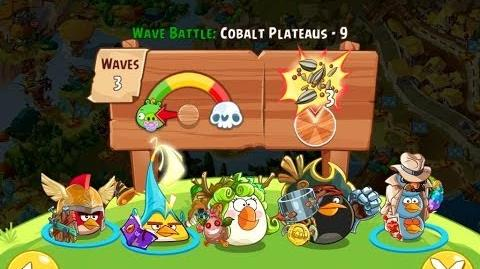 Angry Birds Epic Cobalt Plateaus Level 9 Walkthrough
