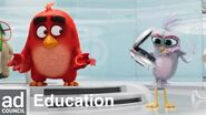 Angry Birds Movie 2 Empowering Girls in STEM Ad Council