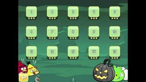 Angry Birds Seasons Ham'o'ween Golden Egg 26 Walkthrough 2012 Halloween Hamoween
