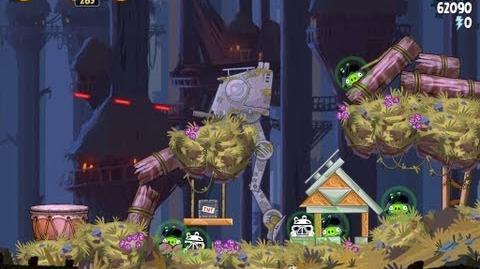 Moon of Endor 5-23 (Angry Birds Star Wars)/Video Walkthrough