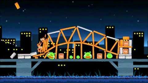 Official Angry Birds Walkthrough Danger Above 7-12