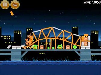 Official Angry Birds Walkthrough Danger Above 7-12