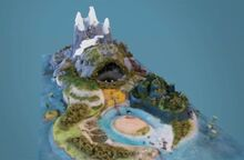 Piggy island model