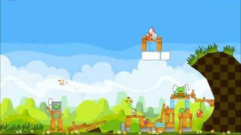Official Angry Birds Seasons Walkthrough Easter Eggs 1-6