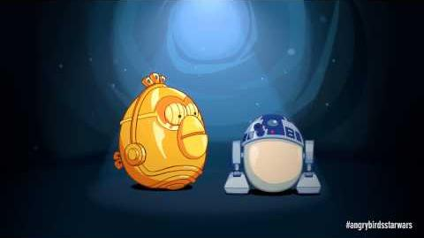 Angry Birds Star Wars R2-D2 & C-3PO - exclusive gameplay-0