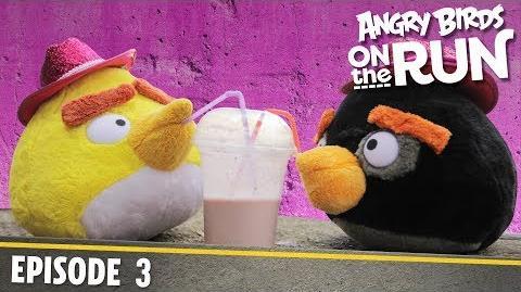Angry Birds on The Run - Baby's Shaky Ride - S1 Ep3