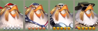 Captain Freedom Icons