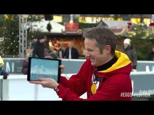 IPad Magician introduces Angry Birds Seasons Arctic Eggspedition!