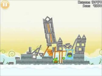 Official Angry Birds Walkthrough Danger Above 8-9