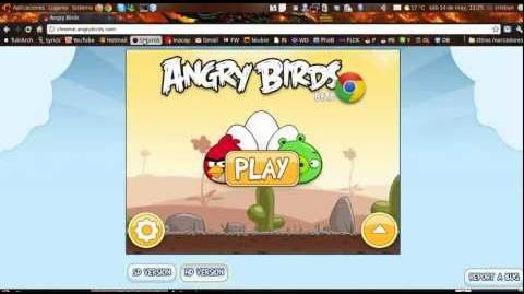 Unlock all levels on chrome's angry birds