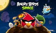 Angry Birds Space - экран загрузки