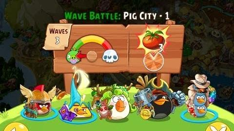 Angry Birds Epic Pig City Level 1 Walkthrough
