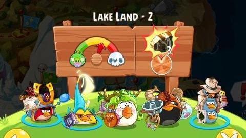 Angry Birds Epic Lake Land Level 2 Walkthrough