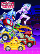 Angry Birds Transformers Autobirds Poster