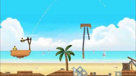 Official Angry Birds Rio Walkthrough Beach Volley 6-6