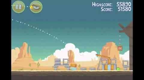 Angry Birds 3 Star Walkthrough Level 13-10
