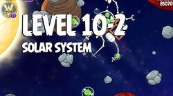 Angry Birds Space Solar System 10-2 Walkthrough 3-Star