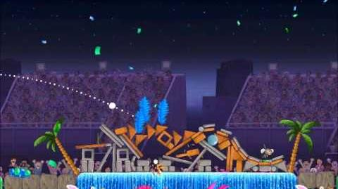 Official Angry Birds Rio Walkthrough Carnival Upheaval 8-9