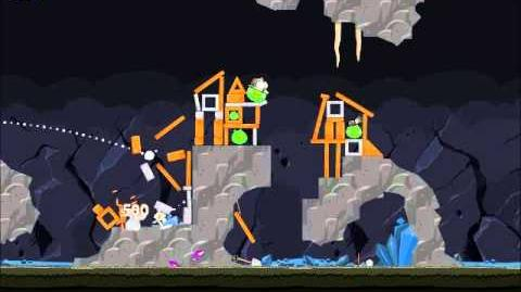 Official Angry Birds Walkthrough Mine and Dine 16-15