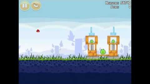 Angry Birds Poached Eggs 1-9 Walkthrough 3 Star