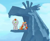 Angry Birds Seasons Mighty Eagle's Den