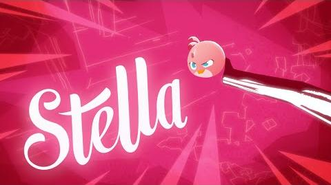 Angry Birds Stella My Name Is Stella!