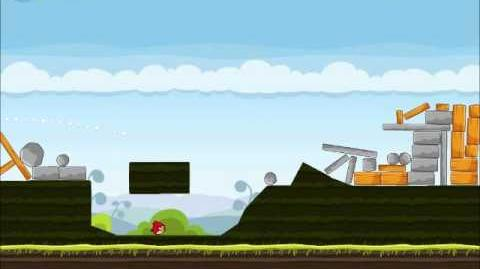 Official Angry Birds Walkthrough Mighty Hoax 4-10