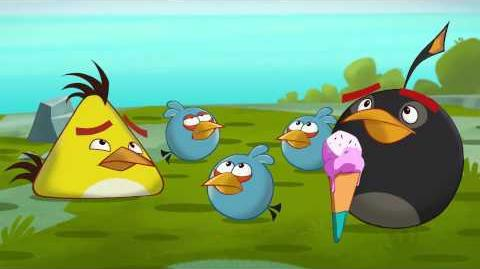 "Angry Birds Toons episode 10 sneak peek ""Off Duty"""