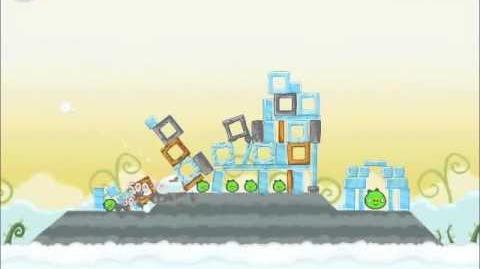 Official Angry Birds Walkthrough Danger Above 8-6