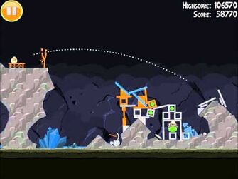 Official Angry Birds Walkthrough Mine and Dine 16-6