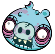 Большой зомби из турнира