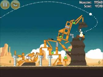 Official Angry Birds Walkthrough Ham 'Em High 14-16