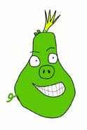 King Pig Sketch by Bird-scientist