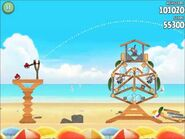 Official Angry Birds Rio Walkthrough Beach Volley 5-4