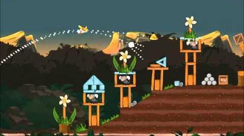 Official Angry Birds Rio Walkthrough Jungle Escape 3-2