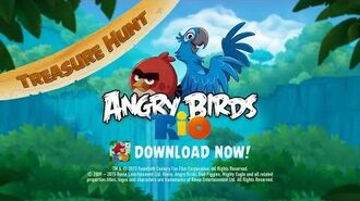New Treasure Hunt in Angry Birds Rio