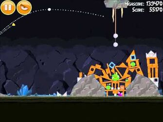 Official Angry Birds Walkthrough Mine and Dine 15-15