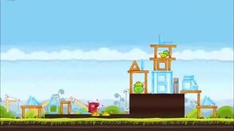 Official Angry Birds Walkthrough The Big Setup 10-10