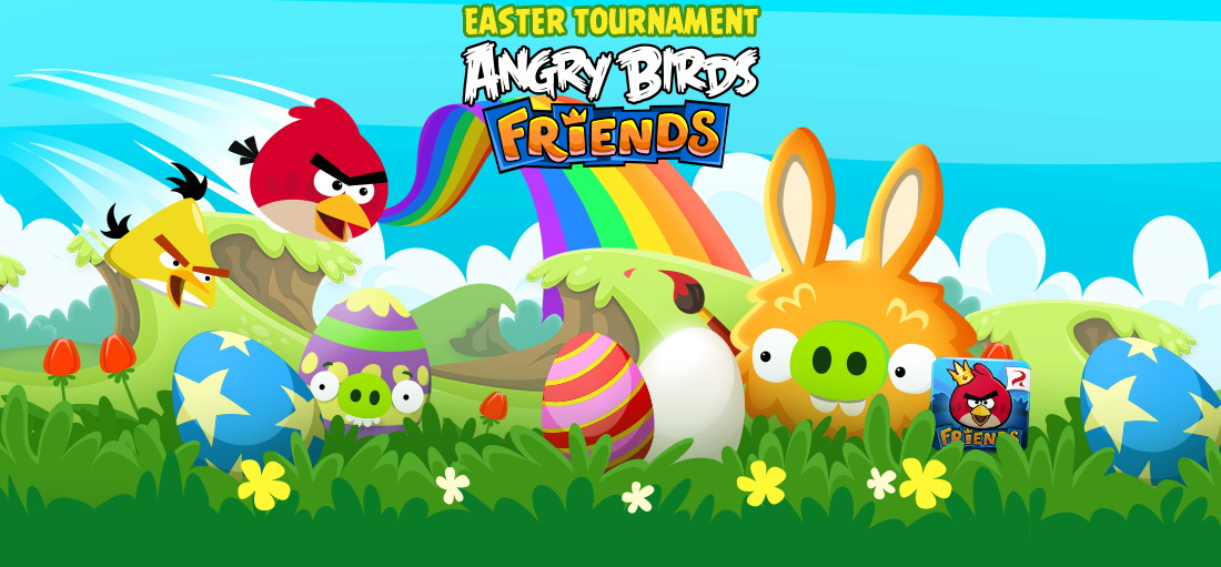 Angry Birds Friends Easter Eggs