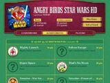 Достижения Angry Birds Star Wars