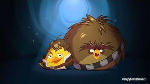 Angry Birds Star Wars Han Solo & Chewie - exclusive gameplay